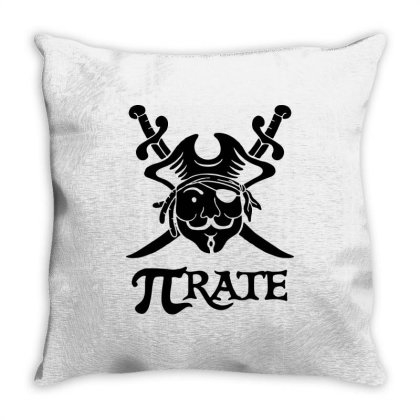 Pi Rate 1 Throw Pillow Designed By Lyly