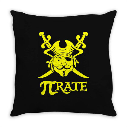 Pi Rate 3 Throw Pillow Designed By Lyly