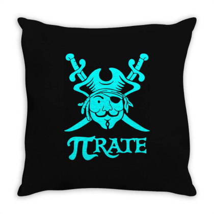 Pi Rate 4 Throw Pillow Designed By Lyly