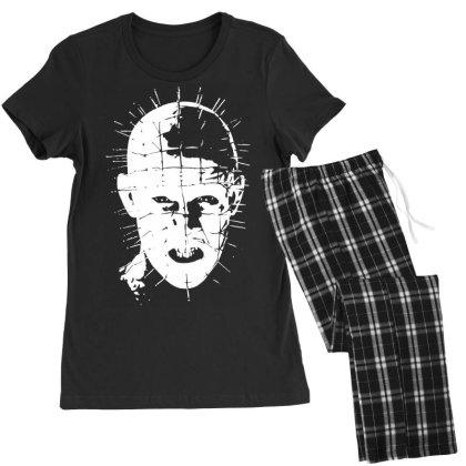 Pinhead   Hellraiser 80s Women's Pajamas Set Designed By Lyly