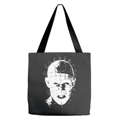 Pinhead   Hellraiser 80s Tote Bags Designed By Lyly