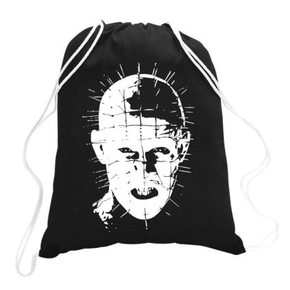 Pinhead   Hellraiser 80s Drawstring Bags Designed By Lyly