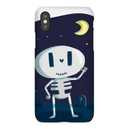 Skeleton Bones Iphonex Case Designed By Chiks
