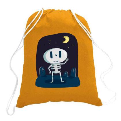 Skeleton Bones Drawstring Bags Designed By Chiks