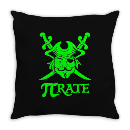 Pi Rate 5 Throw Pillow Designed By Lyly
