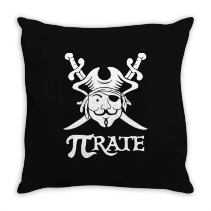 Pi Rate Throw Pillow Designed By Lyly