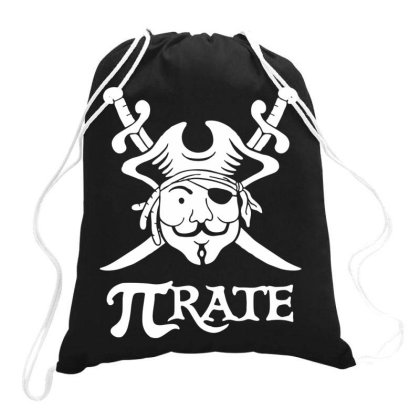 Pi Rate Drawstring Bags Designed By Lyly