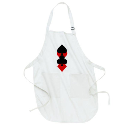 Playing Card Suits Full-length Apron Designed By Lyly