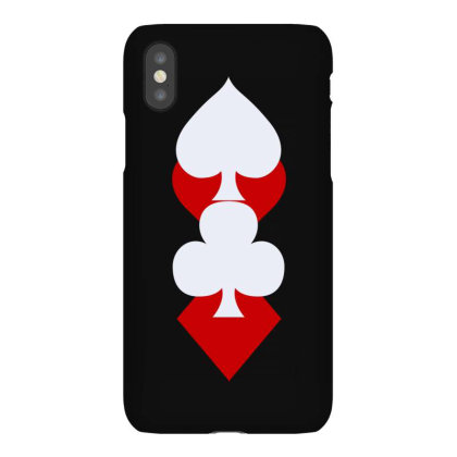 Playing Card Suits(1) Iphonex Case Designed By Lyly