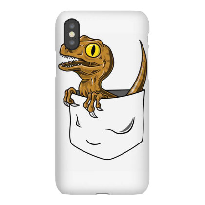 Pocket Raptor Iphonex Case Designed By Lyly