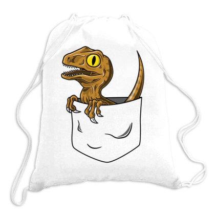 Pocket Raptor Drawstring Bags Designed By Lyly