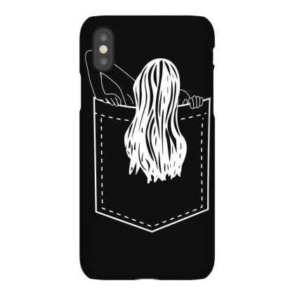 Pocket Samara Funny Iphonex Case Designed By Lyly