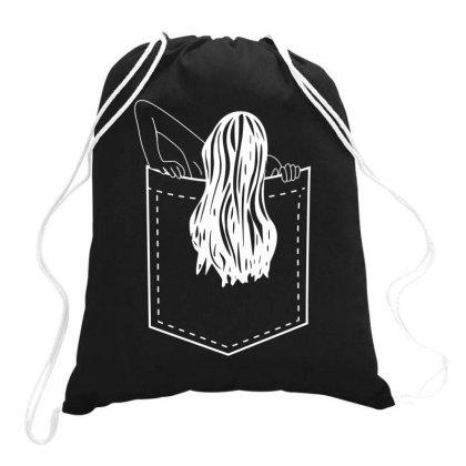 Pocket Samara Funny Drawstring Bags Designed By Lyly