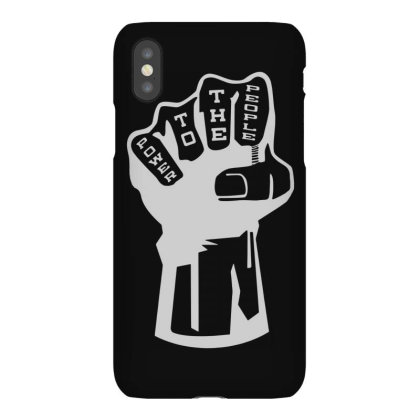 Power To The People(1) Iphonex Case Designed By Lyly