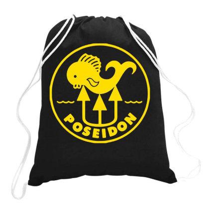 Poseidon Drawstring Bags Designed By Lyly