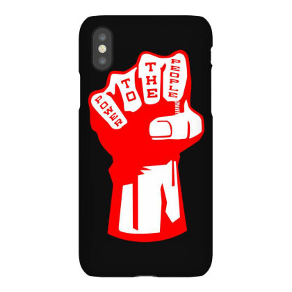Power To The People(2) Iphonex Case Designed By Lyly