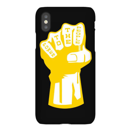 Power To The People(3) Iphonex Case Designed By Lyly