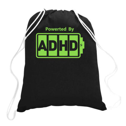 Powered Adhd Drawstring Bags Designed By Lyly