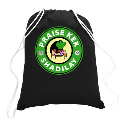 Praise Kek Drawstring Bags Designed By Lyly