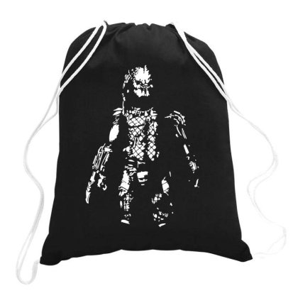 Predator Film Inspired Alien Awesome Funny Drawstring Bags Designed By Lyly