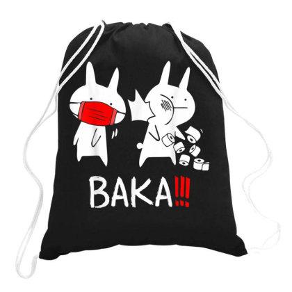 Baka Idiot Drawstring Bags Designed By Kakashop