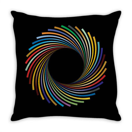 Camera Diaphragm Throw Pillow Designed By Chiks