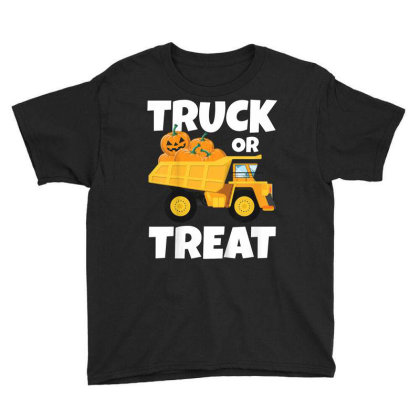 Pumpkin Trick Or Treat Youth Tee Designed By Kakashop