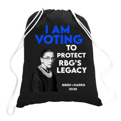 Protect Ruth Bader Ginsburg's Legacy Drawstring Bags Designed By Kakashop