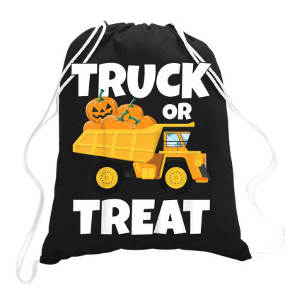 Pumpkin Trick Or Treat Drawstring Bags Designed By Kakashop