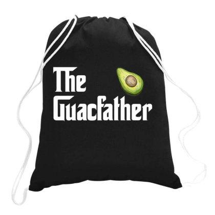 The Guacamole Father Avocado Drawstring Bags Designed By Kakashop