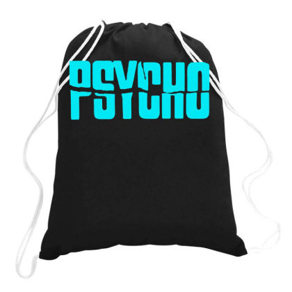 Psycho Hitchcock 1 Drawstring Bags Designed By Lyly
