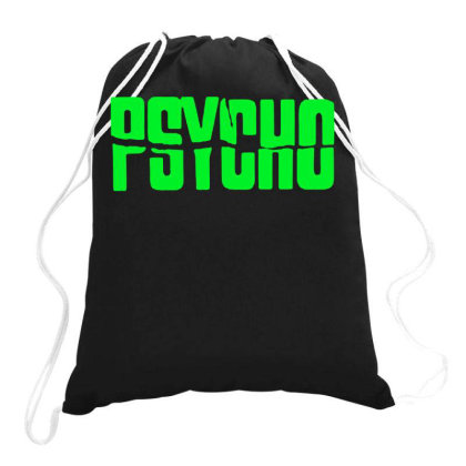 Psycho Hitchcock 2 Drawstring Bags Designed By Lyly