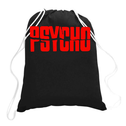 Psycho Hitchcock Drawstring Bags Designed By Lyly