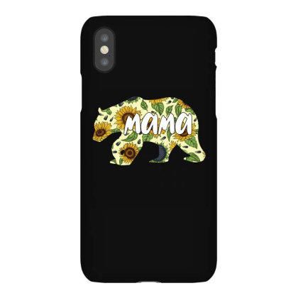 Mama Bear Sunflower Iphonex Case Designed By Ashlıcar