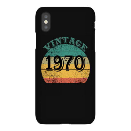 Vintage 1970 Iphonex Case Designed By Ashlıcar