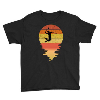 Volleyball Vintage Youth Tee Designed By Ashlıcar