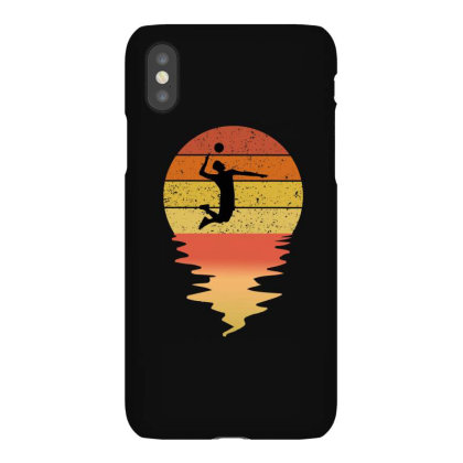 Volleyball Vintage Iphonex Case Designed By Ashlıcar