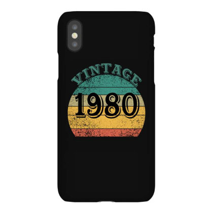 Vintage 1980 Iphonex Case Designed By Ashlıcar