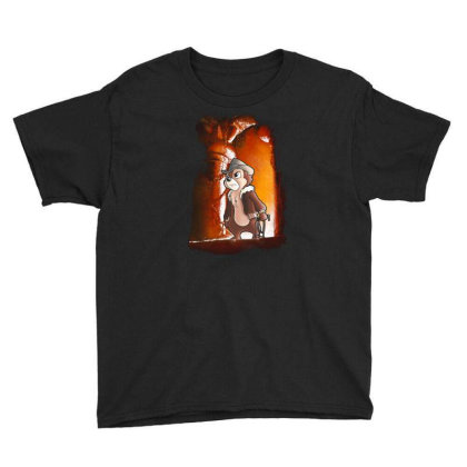 The Temple Cartoon Youth Tee Designed By Bannon