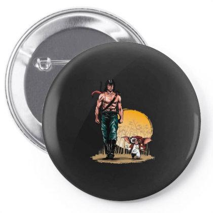 The Rambolorian Castom Pin-back Button Designed By Bannon