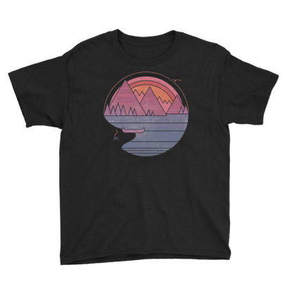 The Mountains Are Calling Youth Tee Designed By Bannon
