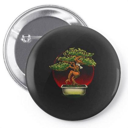 The Karate Bonsai Pin-back Button Designed By Bannon