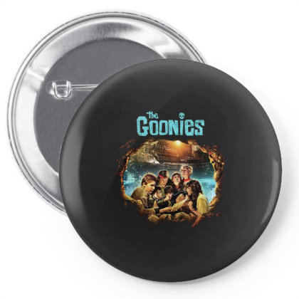 The Goonies Pirate Ship Pin-back Button Designed By Bannon