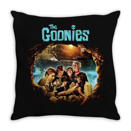 The Goonies Pirate Ship Throw Pillow Designed By Bannon