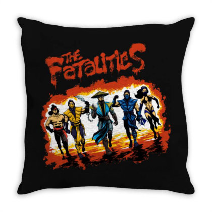 The Fatalities Tee Throw Pillow Designed By Bannon