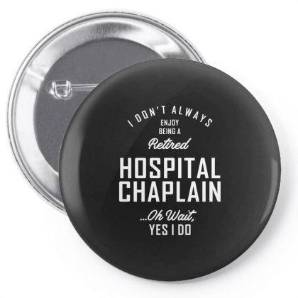 Hospital Chaplain Shirt Job Title Gift Pin-back Button Designed By Cidolopez