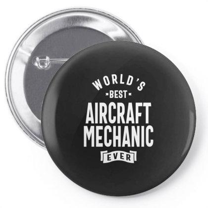 Aircraft Mechanic Shirt Job Title Gift Pin-back Button Designed By Cidolopez