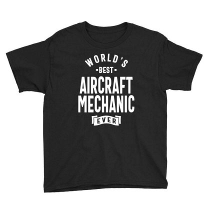 Aircraft Mechanic Shirt Job Title Gift Youth Tee Designed By Cidolopez