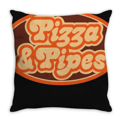 Pizza And Pipes Throw Pillow Designed By Schulz-12