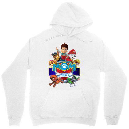 Paw Patrol Birthday Boy Mom Unisex Hoodie Designed By Schulz-12